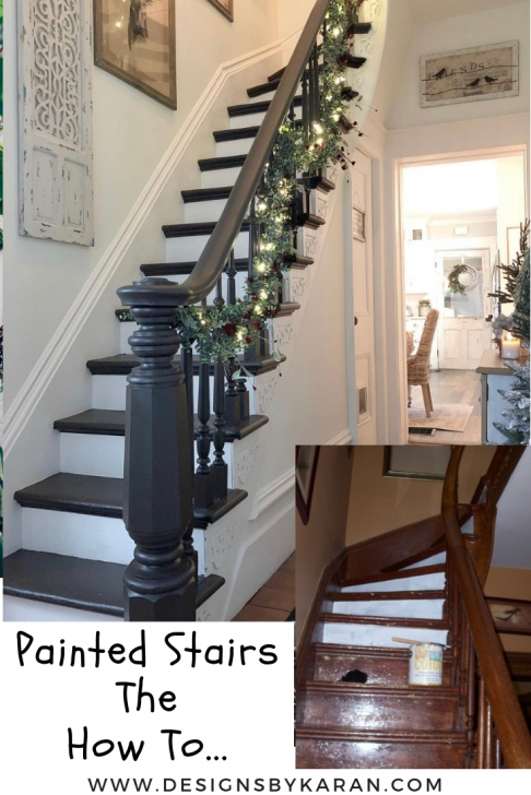 Best Cool Painted Indoor Stairs Photo 542