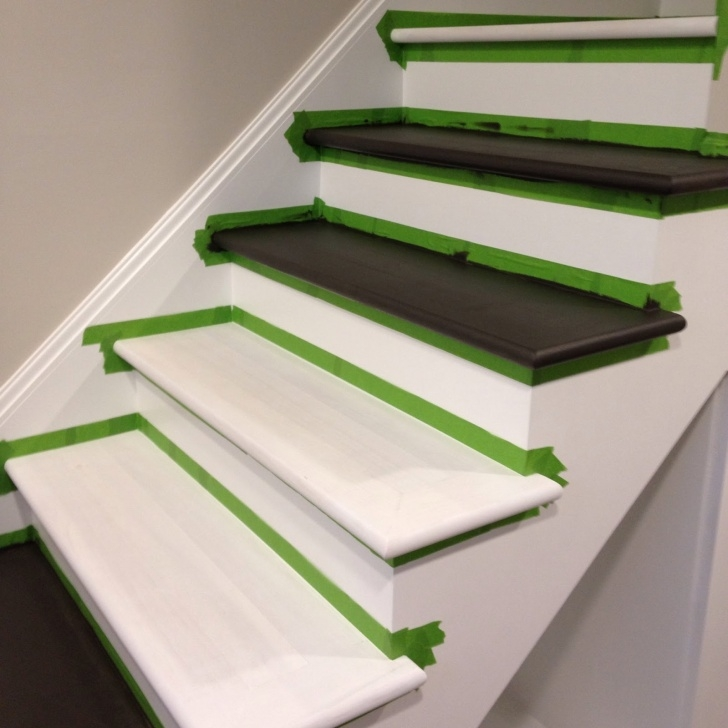 Best Cool Painting Basement Steps Picture 965