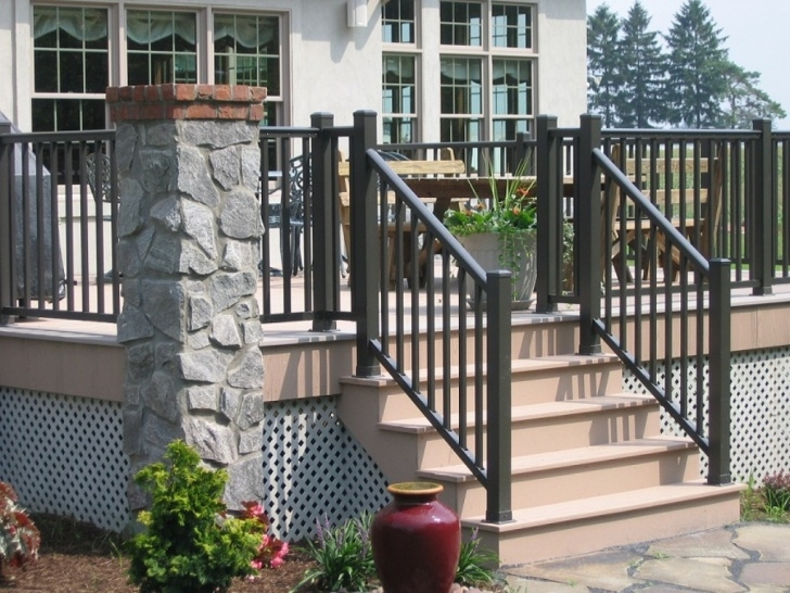 Best Cool Railing For Concrete Porch Photo 562