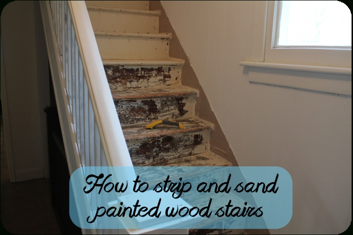 Best Cool Sanding Painted Stairs Photo 754