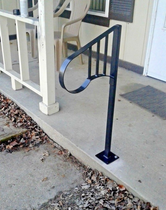 Best Cool Single Post Handrail Image 498