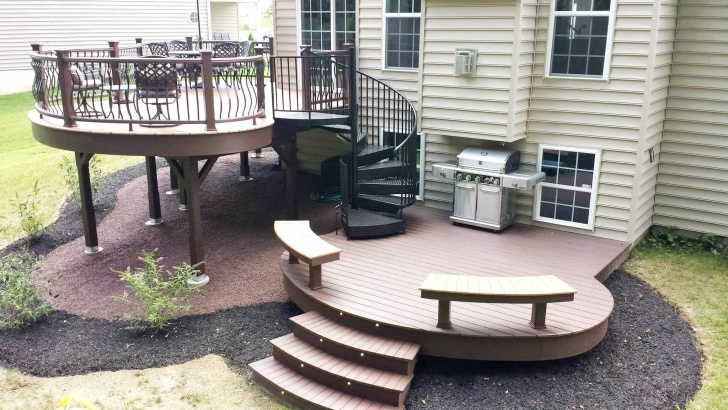Best Cool Spiral Deck Stairs Photo 783