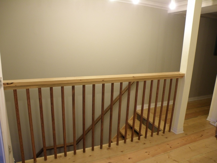 Best Cool Stair Landing Railing Picture 301