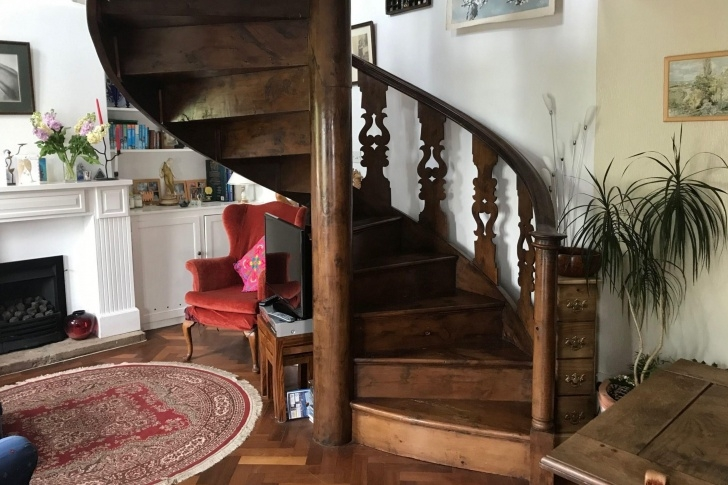 Best Cool Victorian Spiral Staircase Photo 730