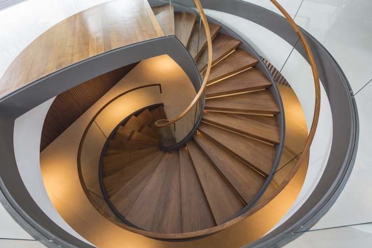 Best Cool Wide Spiral Staircase Image 636