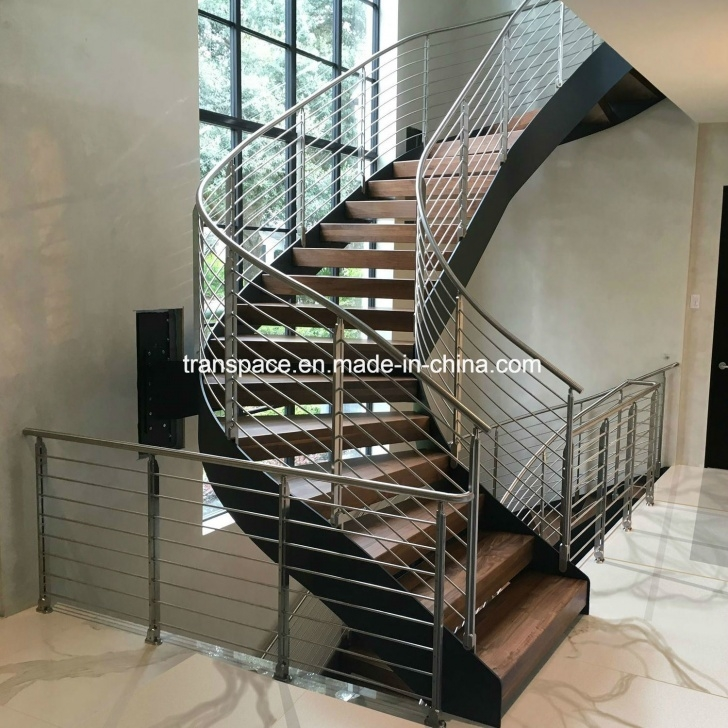 Best Curved Stair Railing Image 961