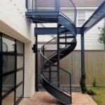 Best Exterior Spiral Staircase Picture 004