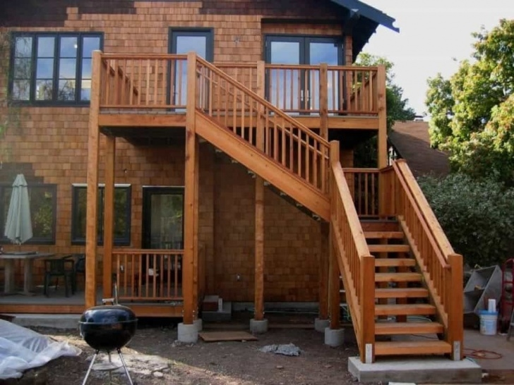 Best Exterior Wood Stairs Picture 651