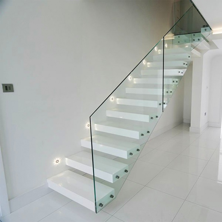 Best Floating Glass Staircase Photo 849