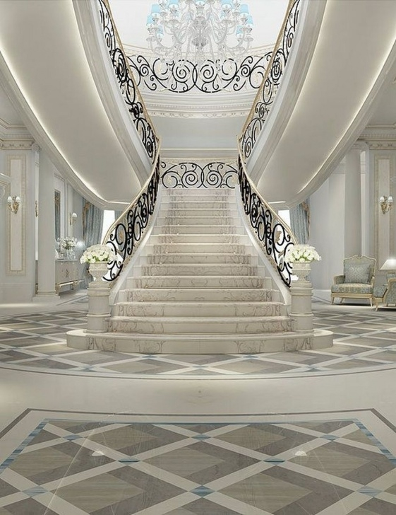 Best Grand Staircase Design Photo 218