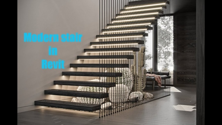 Best Hanging Stairs Design Photo 652
