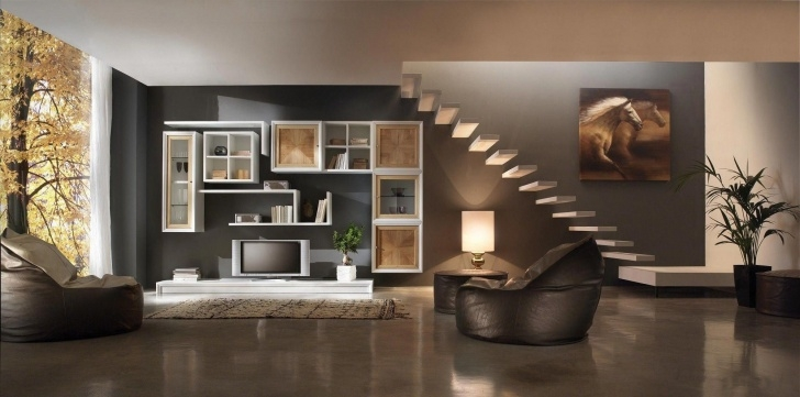 Best Interior Design Of Living Room With Stairs Picture 907