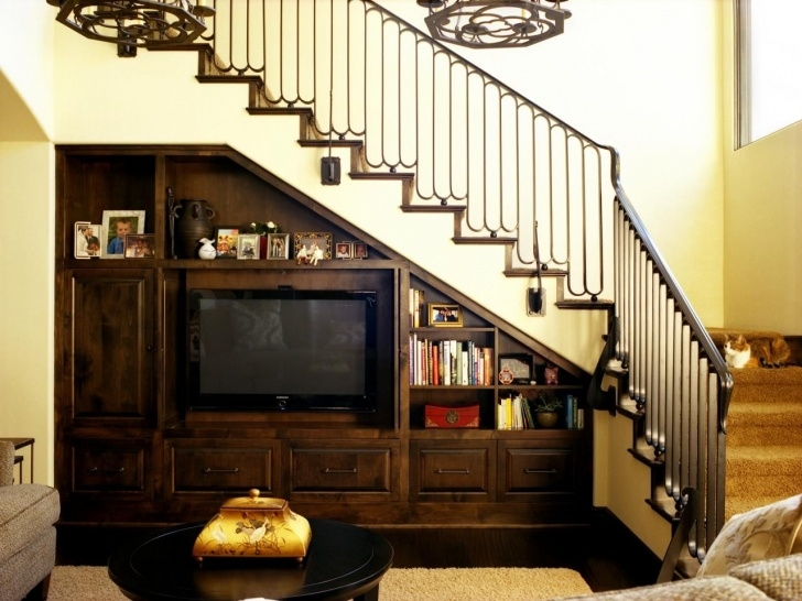 Best Living Room Design Under Stairs Image 823