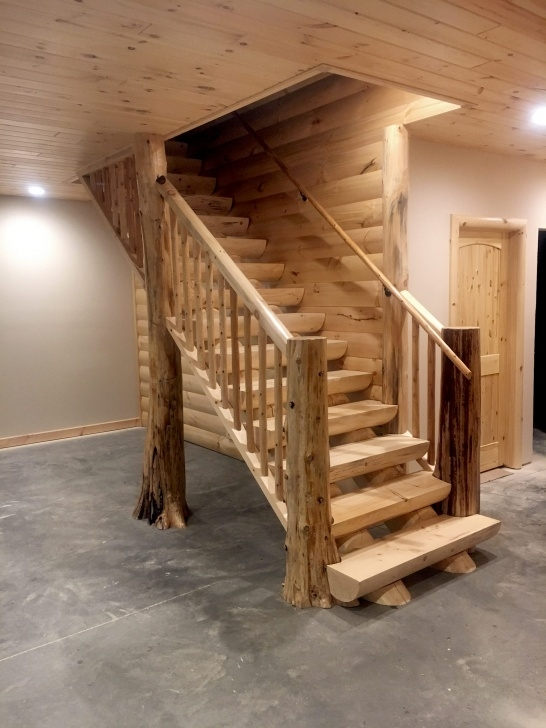 Best Log Stair Railing Picture 880