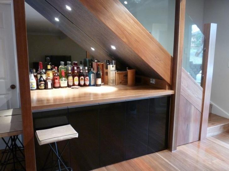 Best Mini Bar Design Under The Stairs Photo 538