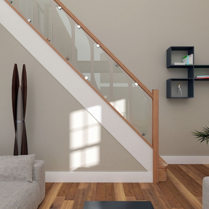 Best Oak Handrail For Glass Image 085