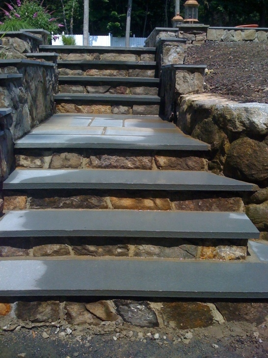 Best Outdoor Stone Stairs Photo 125