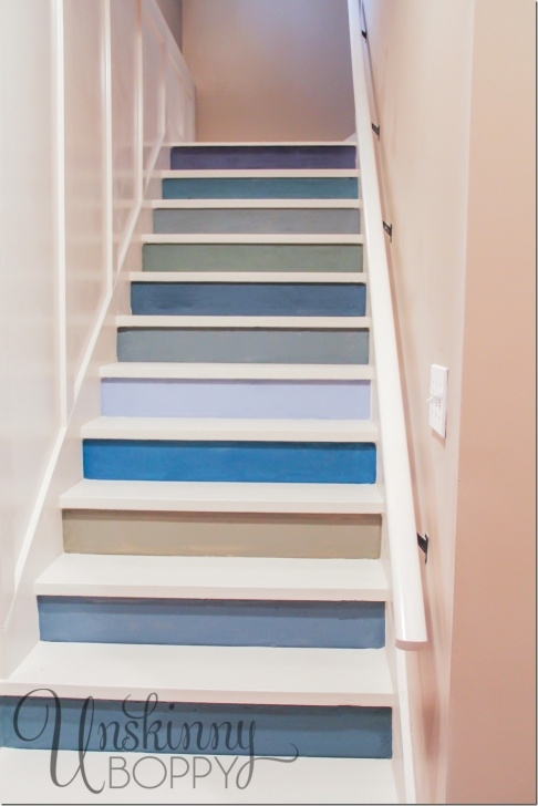 Best Painting Basement Stairs Photo 879