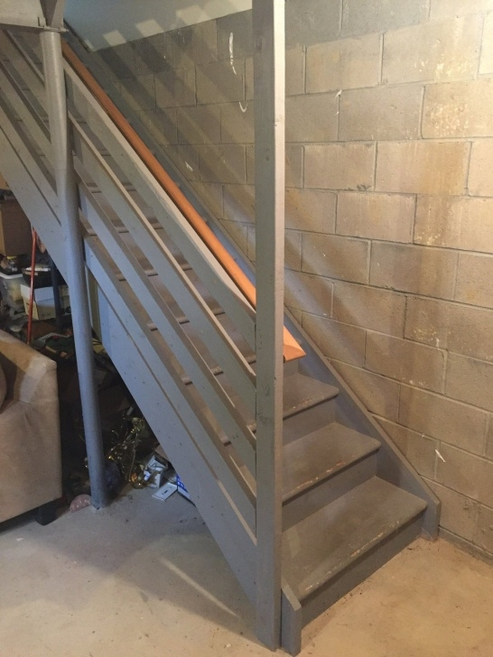 Best Remodeling Basement Stairs Photo 704