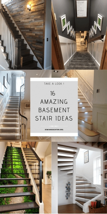 Best Remodeling Basement Stairs Picture 238