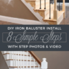 Replacement Wood Stair Balusters