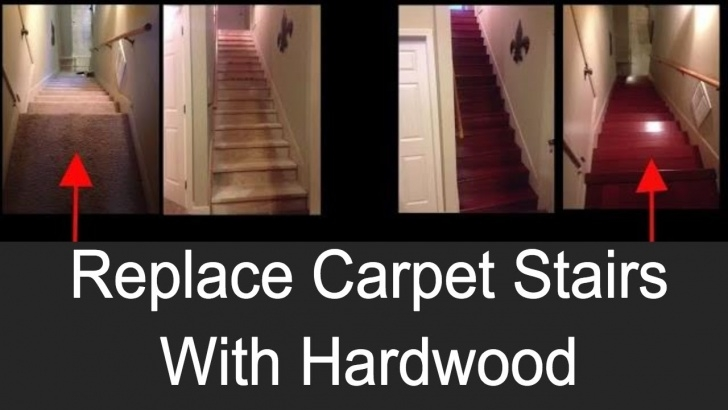 Best Replacing Carpeted Stairs With Wood Image 056