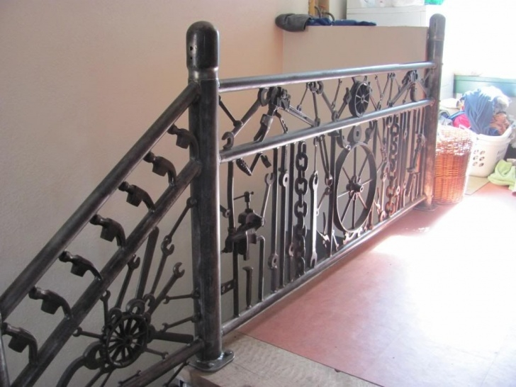 Best Repurposed Stair Railings Image 897