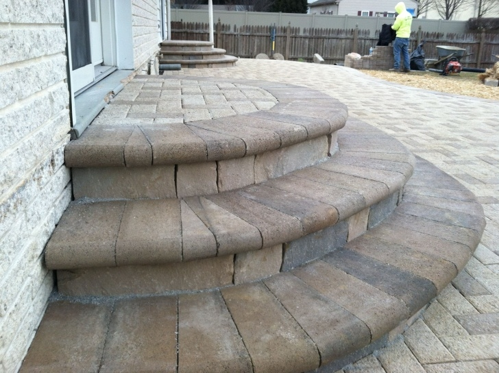 Best Rounded Patio Steps Image 492