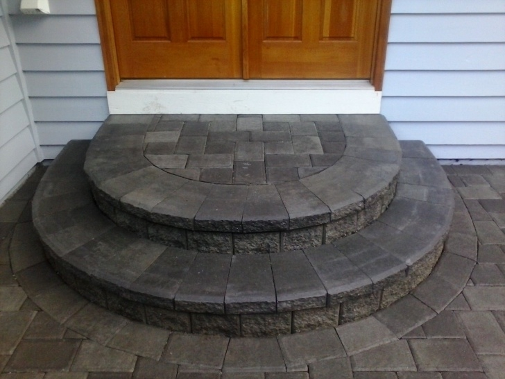 Best Rounded Patio Steps Photo 495