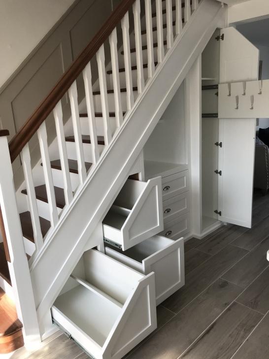 Best Staircase Wardrobe Design Picture 803