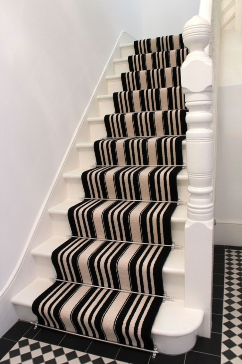 Best Stripy Stairs Carpet Picture 420