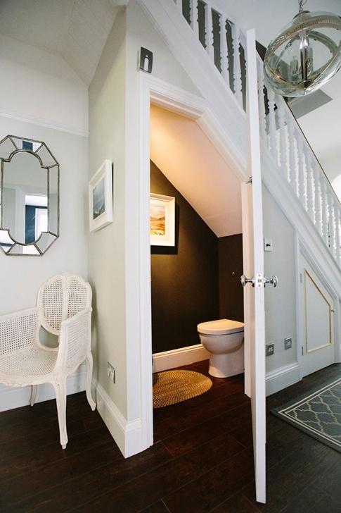 Best Under Stair Toilet Design Image 379
