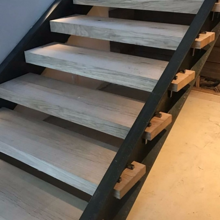 Best White Oak Stairs Photo 516