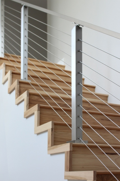Best Wire Stair Railing Image 008