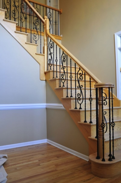 Best Wood And Iron Stair Railing Image 715