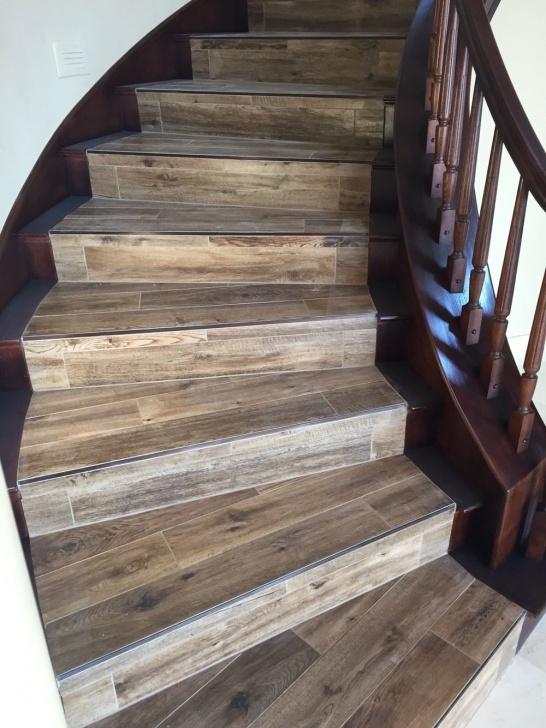 Best Wood Look Tile On Stairs Image 646