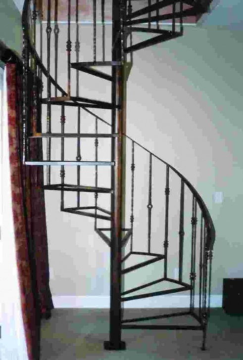 Best Wrought Iron Spiral Staircase Photo 347