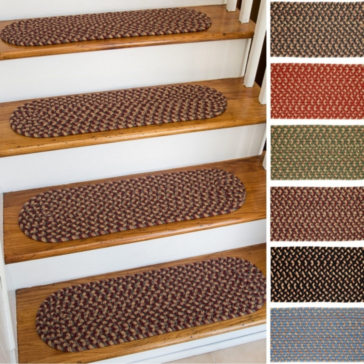 Cool Braided Stair Tread Rugs Picture 345
