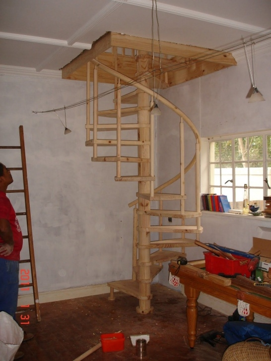 Cool Building A Spiral Staircase Picture 982