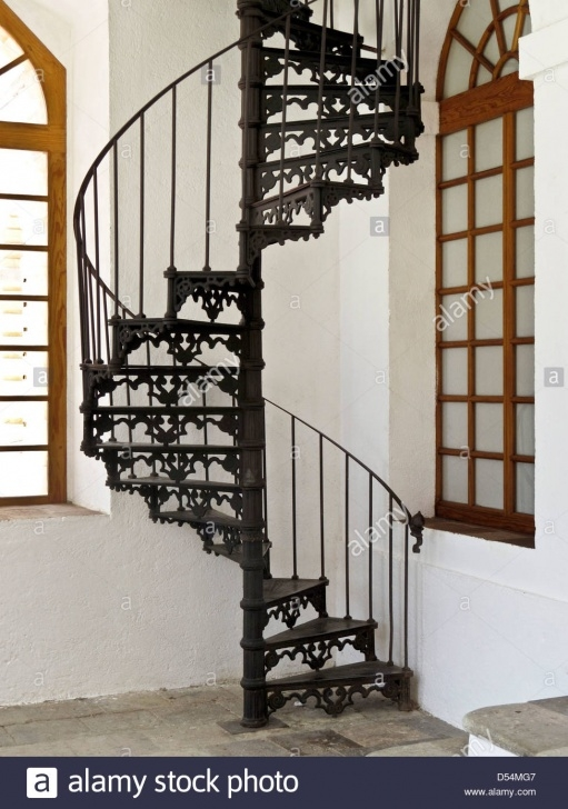 Cool Cast Iron Spiral Staircase Photo 456
