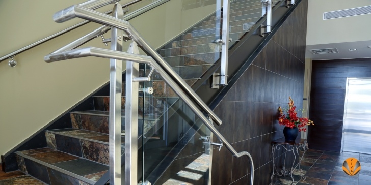 Cool Decorative Stair Railing Photo 017