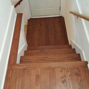 Hardwood Floor Steps