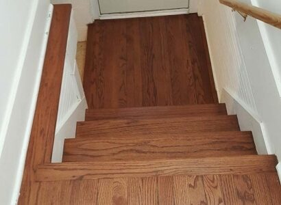 Hardwood Floor Steps