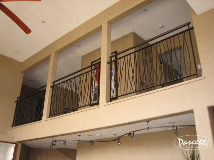 Cool Interior Balcony Railing Photo 132
