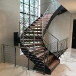 Cool Metal Staircase Design Photo 904
