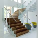 Cool Modern Glass Stair Railing Picture 623