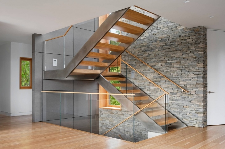 Cool Modern Open Staircase Photo 840