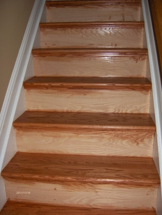 Cool Oak Stair Treads And Risers Photo 891