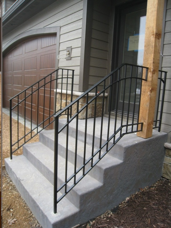 Cool Outdoor Stair Handrail Image 037