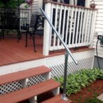 Cool Outdoor Wooden Handrail Image 738